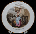 Cries Of London Strawberry Plate Tuscan Plant Regency