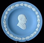 President Harry Truman Wedgwood Jasper Plate Dish