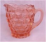 Fostoria Whitehall American Glass Pink Creamer