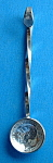Salt Spoon King George V Sterling Silver Threepence