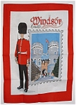 Windsor Castle Tea Towel Guardsman England Royal