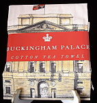 Tea Towel Buckingham Palace London Queen Elizabeth Ii