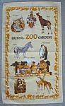 Tea Towel Bristol Zoo Gardens England Penguins Tiger