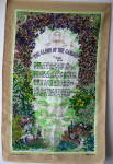 Glory Of The Garden Tea Towel Rudyard Kipling Poem
