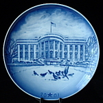 Plate Bing And Grondahl 2001 American Christmas Plate
