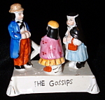 Fairing The Gossips Reproduction Carnival Prize Porcela