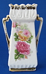 Antique Porcelain Spill Vase Fairing Roses German