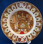 Plate Royal Wedding Charles And Diana Coalport St Pauls
