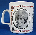 Mug Royal Wedding Charles And Diana England Lady Di