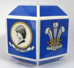 Money Box Charles Diana Royal Wedding Bank Wedgwood