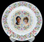 Princess Diana And Charles Royal Wedding Plate Coalport
