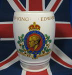 King Edward Viii Coronation Cup Mug Abdicated Beaker 1937
