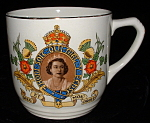 Tea Mug Queen Elizabeth Ii Coronation Empire Fancy Mint