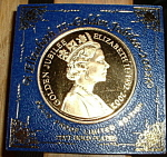 Queen Elizabeth Ii Gold Jubilee Medallion Mint Medal