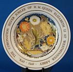 Susie Cooper Dish Queen Elizabeth Ii Silver Jubilee