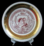 Plate Coronation Queen Elizabeth Ii Collingswood Canada