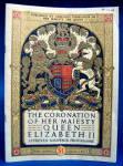 Coronation Programme Queen Elizabeth Ii England 1953