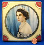 Tin Box Queen Elizabeth Ii Coronation Thorne's Chocolates Tea Tin