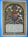 Coronation Program Queen Elizabeth Ii England 1953 Usa Market