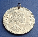 Medal Marriage Princess Mary England Daughter George V