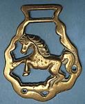 Horse Brass Rearing Horse England Pub Brasses Souvenir