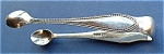 Antique Sterling Silver Sugar Tongs England Hallmarked