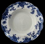 Bowl Royal Doulton England Burslem Flow Blue Lynn