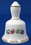 Coalport England Miniature Bell Indian Tree Bone China