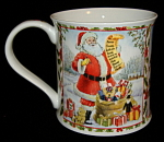 Dunoon Mug Santa Season's Greetings Richard Partis