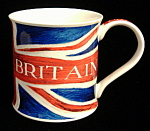 British Flag Mug Dunoon England Union Jack Bone China