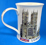 Dunoon Tea Mug London Skyline Tower Of London Big Ben