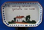 Motto Ware Dish Tray Rolling Stone Dartmouth Mottoware