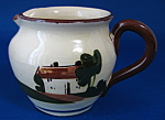 Motto Ware Pitcher Jug Too Many Cooks Spoil Mottoware