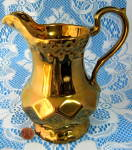 Copper Luster Pitcher Jug Wade Royal Victoria Vintage