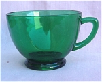 Forest Green Punch Cup Anchor Hocking