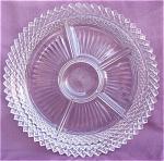 Miss America Glass 5 Relish Tray Dish Hocking