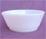 Fire-king Anchor Hocking White Glass Cereal Bowl