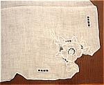 Tea Cloth Tablecloth England Linen Embroidered England