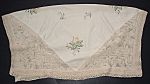 Tablecloth Embroidered Vintage Tea Cloth England