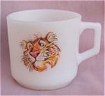 Fire-king Exxon Tiger Coffee Mug Cup