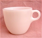 Fire-king Milk White Coffee Mug Restaurant
