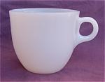Fire-king St. Denis Milk White Coffee Mug