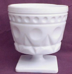 Milk Glass Planter Or Candy Dish