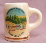 Black Hills Souvenir Mug Toothpick Holder