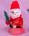 Vintage Japan Spun Cotton Chenille Santa Claus