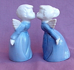 Inarco Japan Kissing Angels Porcelain Figurines