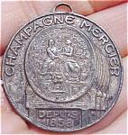 Rare French Mercier Champagne Medallion