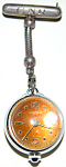 Art Deco Boucherer Hanging Pendant Brooch Watch