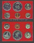 1975 United States Mint Proof Set Mib Orig Cardboard