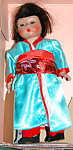 1970s Madame Alexander 8in Japan #570 Girl Doll Mib